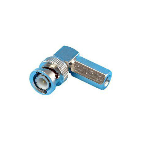 Twist on Right Angle BNC Connector for RG-59 & 62