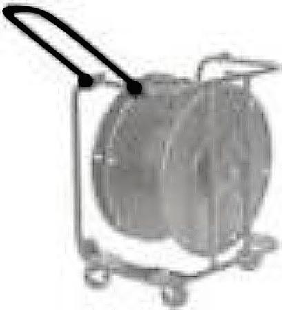 Hannay 9906.0737 Folding Push Handle for C-Series Reels