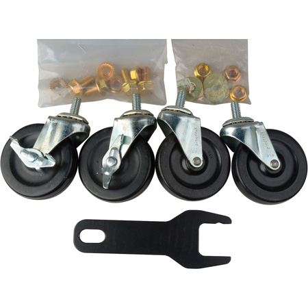 Heavy-Duty Locking Caster Wheel Set for AVC1500