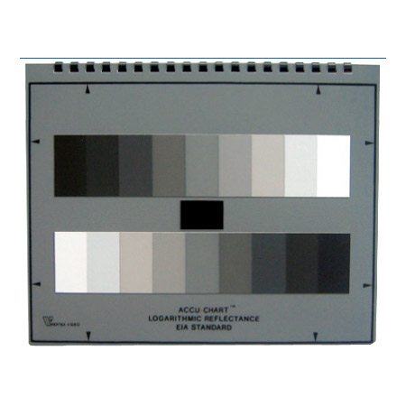 Accu-Chart  9 Step EIA Type Grey Scale Chart