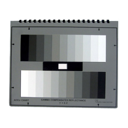 Accu-Chart GSG11 11 Step Grey Scale Chart