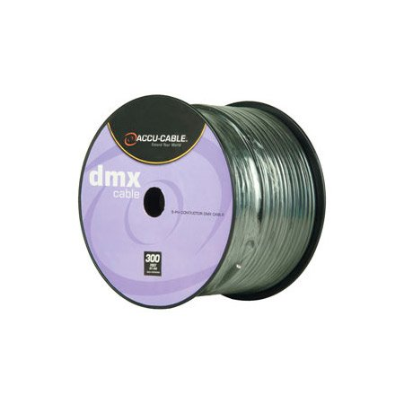 ACCU-CABLE AC5CDMX300 5 Pin DMX Cable - 300 Foot Spool