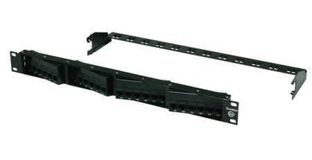 ADC PP48AC6T 48 Port Category 6  Dynamic Angle Right/Left Patch Panel