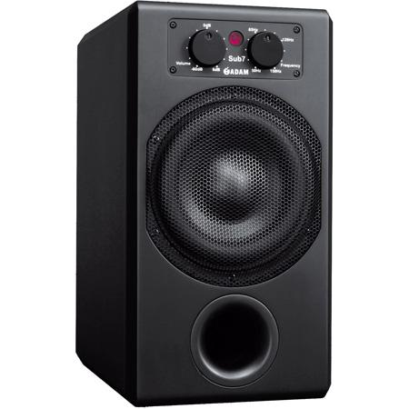 Adam Professional Audio SUB7 Subwoofer 7 Inch 210 Watt with Wireless Remote - Black