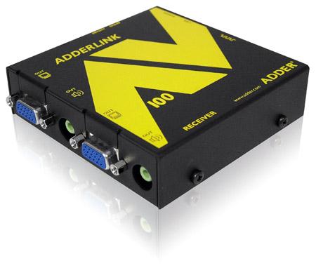Adder ALAV101R-US Link AV101R VGA & Audio Extender - Receiver