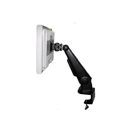 Table Mount LCD Flat Panel Monitor Mount With VESA Plate And Table Clamp - Black