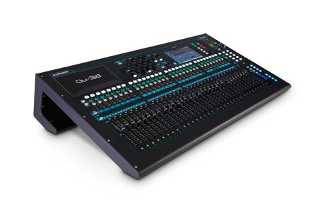 Allen & Heath QU-32 38-In/28-Out Digital Audio Mixer