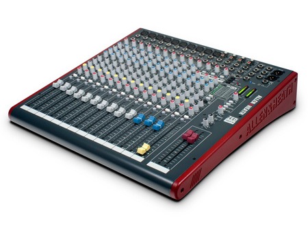 Allen & Heath ZED-16FX Multipurpose USB Mixer with FX for Live Sound & Recording