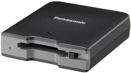 Panasonic AJ-PCD2GPJ Single-Slot P2 Memory Card Drive