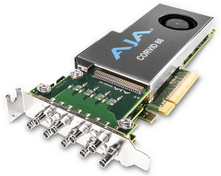 AJA Corvid 88 Multi-stream Multi-format PCIe I/O Card