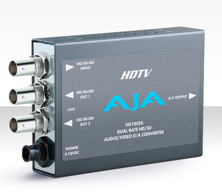 AJA HD10CEA SDI/HD-SDI to Analog Audio/Video