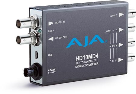 AJA HD10MD4 HD to SD Digital Downconverter