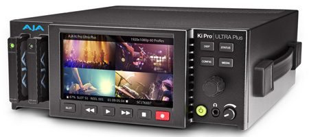 AJA Ki Pro Ultra Plus Multi-Channel HD Recorder 4K/UltraHD/2K/HD Recorder and Player