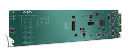AJA OG-3G-AM OpenGear 3G-SDI 8-Channel 24-bitAES Embedder/Disembedder