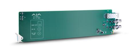 AJA OG-FIBER-T openGear 1-channel SDI to Fiber Converter