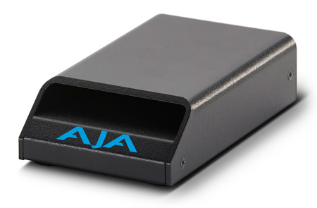 AJA Pak Dock External Thunderbolt & USB3 Reader for AJA Pak Modules