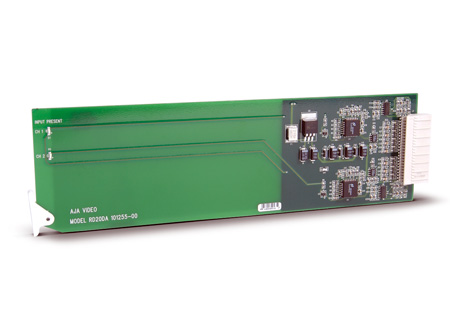 AJA RD20DA Dual Channel SDI Distribution Amplifier