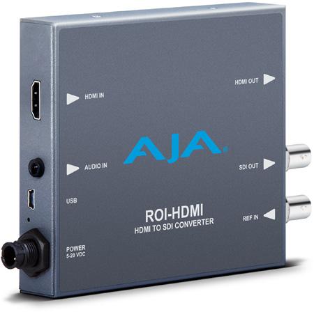 AJA ROI-HDMI HDMI to SDI with ROI Scaling