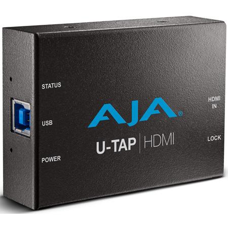 AJA U-TAP HDMI  USB 3.0 Powered HDMI Capture