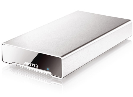 AKiTiO AK-NEU-TIAS-AKT2H Neutrino Thunderbolt Edition 512GB 2.5-Inch SSD Drive