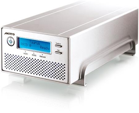 AKiTiO AK-PDD-MSABU3OS-AKTUH Taurus Super-S3 LCM 4TB Multi-Bay Drive Enclosure