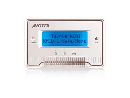 AKiTiO AK-PDM-MSBU3OS-AKTUH Taurus Mini Super-S LCM 2 x 1TB 2.5-Inch SATA HD