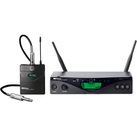 AKG WMS470 Instrumental Set Professional Wireless Microphone System