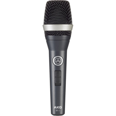 AKG D5 S Supercardioid Handheld Dynamic Microphone With On/Off Switch