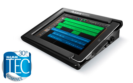 Alesis iO Dock2 Recording Dock for iPad with 2 XLR/TRS Inputs - MIDI I/O & USB MIDI