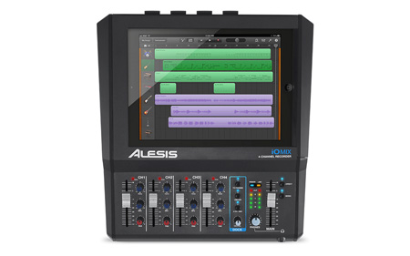 Alesis iO MIX 4-Channel Audio Interface / Mixer for iPad