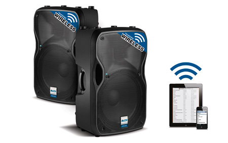 ALTO TRUESONIC TS112W Wireless Active 800-Watt 2-Way 12 Inch Loudspeaker