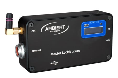 Ambient Recording ACN-ML Master Lockit Synchronizer and Time Code Transceiver for Cameras & Audio Recorders