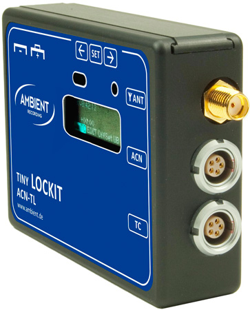 Ambient Recording ACN-TL Tiny Lockit Synchronizer for Cameras & Audio Recorders