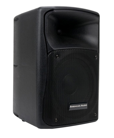American Audio ELS-GO 8BT 8 Inch 2-way Battery or AC Powered Portable Speaker with Mic/Line USB/SD and Bluetooth Inputs