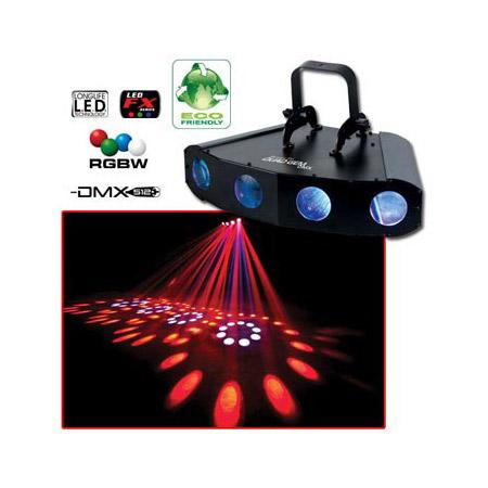 ADJ  QUAD GEM DMX 4-Way LED Array Lighting Effect