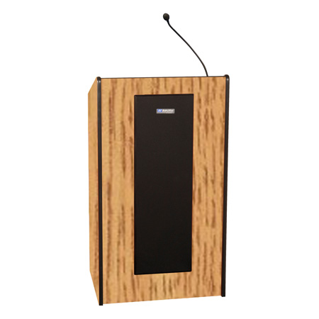 Amplivox S450-OK Presidential Plus Lectern - Wired Sound - Oak
