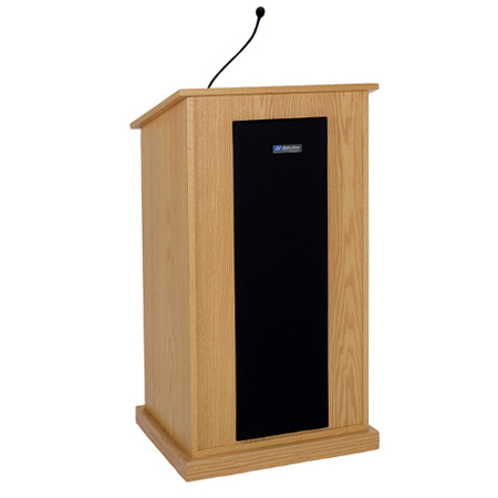 S470MH Chancellor Lectern with Sound System - Mahogany