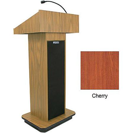 Amplivox S505-CH Executive Sound Column Lectern - Cherry