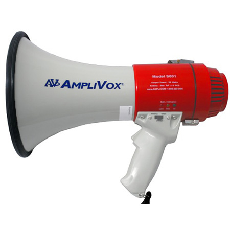 Amplivox S601R Mity-Meg 15-Watt Rechargeable Megaphone
