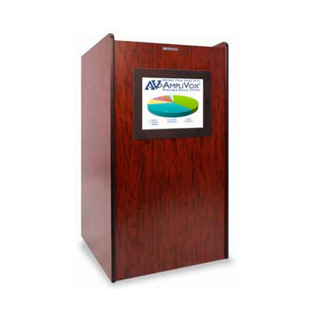 Amplivox SN3265 Visionary Multimedia Lectern - Medium Oak