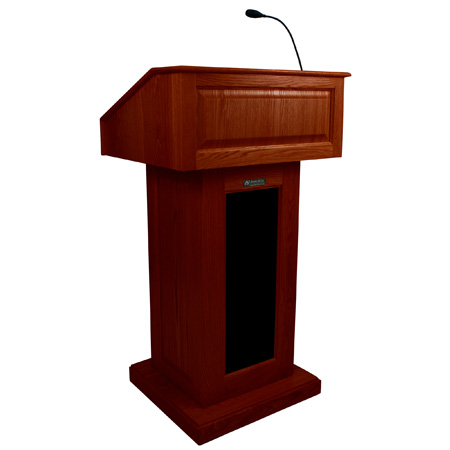 Amplivox SS3020OK Victoria Lectern with Sound - Oak