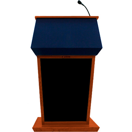 SS3040WT Patriot Lectern with Sound - Walnut