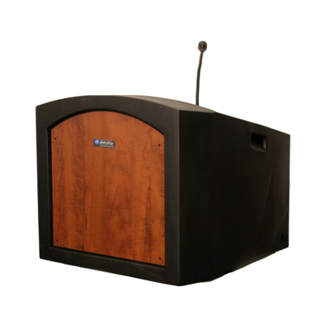 ST3240MP Pinnacle Tabletop Lectern with Sound - Maple