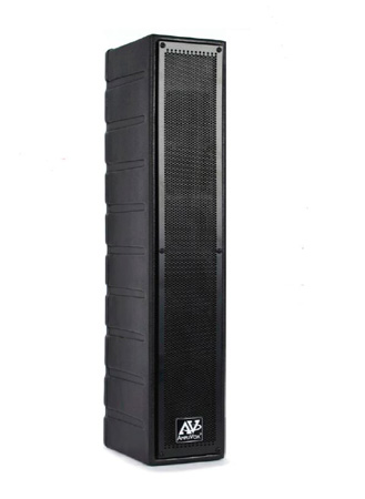 Amplivox SW1234 Line Array Speaker w/ 16 channel UHF wireless microphone)