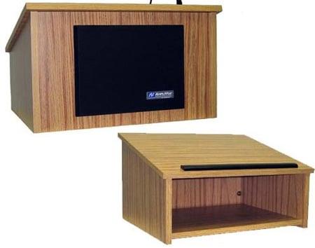 Amplivox W250WT Tabletop Lectern - Walnut