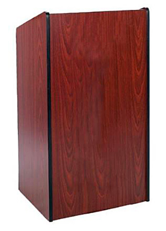 Amplivox Presidential Lectern Without Sound- Mahogany