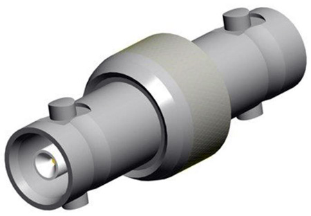 Amphenol APH-HDBNCJ-J Adapter HD-BNC Jack to HD-BNC Jack 75 ohm