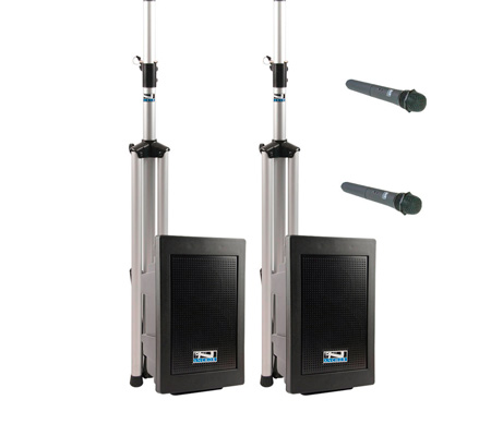 Anchor EXP-DPDUALAC-HH Explorer DUAL Deluxe AC Only Package w/2 Wireless Handheld & Bluetooth