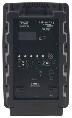 Anchor LIB-8000 Liberty Platinum Speaker with Bluetooth