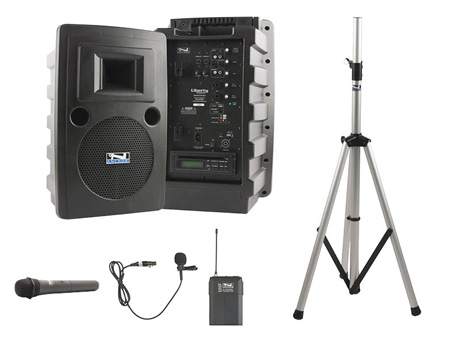 Anchor LIB-BPDUAL Liberty DUAL Basic - Bluetooth - Wireless HH - Lav Mic -CD/MP3